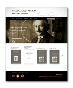 2014-12-06_Digital-Einstein-Papers-Home Screennshot