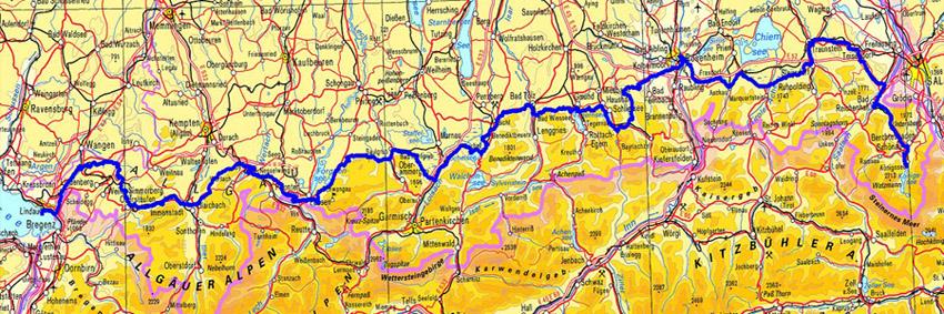 Bodensee Konigssee Radtour Streifzuge