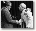 Nixon greets POW McCain