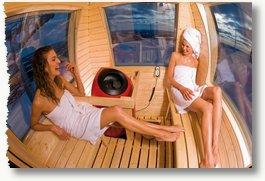 Saunagirls in Ylläs