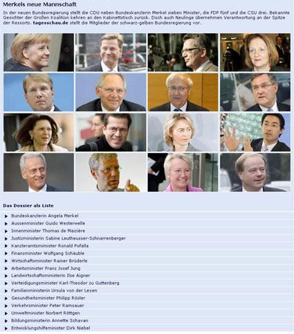Bundeskabinett 2009